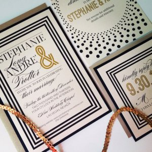 Suit and Tie Invitations